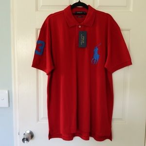 Polo Ralph Lauren size XL red NEW WITH TAGS tshirt